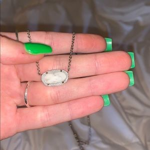 Kendra Scott Marble necklace